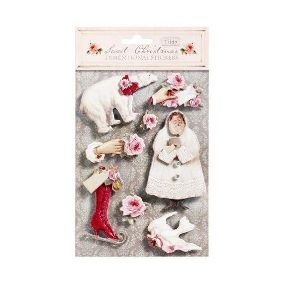Stickers 3D Tilda Sweet Christmas