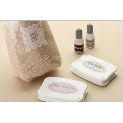 Stazon Opaque Uninked Pad & Inker Kit