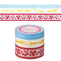 MAsking Tape 3 rouleaux Kitchen deco