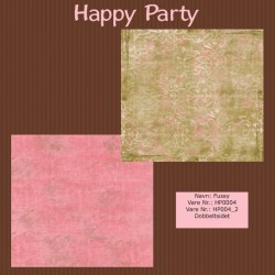 "Papier scrap ""Happy Party"" Fussy"