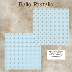 "Papier scrap ""Bello Pastello"" 64"