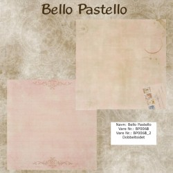 "Papier scrap ""Bello Pastello"" 68"
