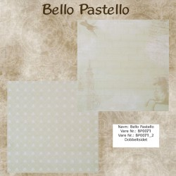 "Papier scrap ""Bello Pastello"" 71"
