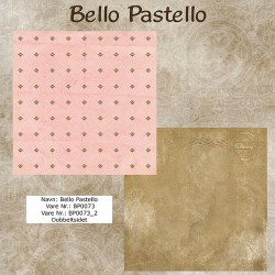 "Papier scrap ""Bello Pastello"" 73"