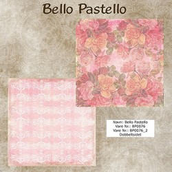 "Papier scrap ""Bello Pastello"" 76"