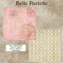 "Papier scrap ""Bello Pastello"" 77"