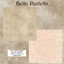 "Set de 5 Feuilles ""Bello Pastello"""